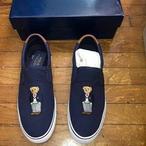 Vintage Polo Bear Shoes